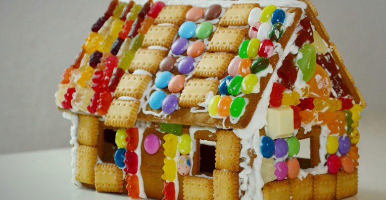 "Photo of Biscuit ""Gingerbread"" House"