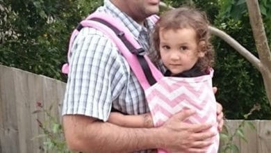 "Photo of Dad's Babywearing – ""Real Men"" Wear Their Babies"