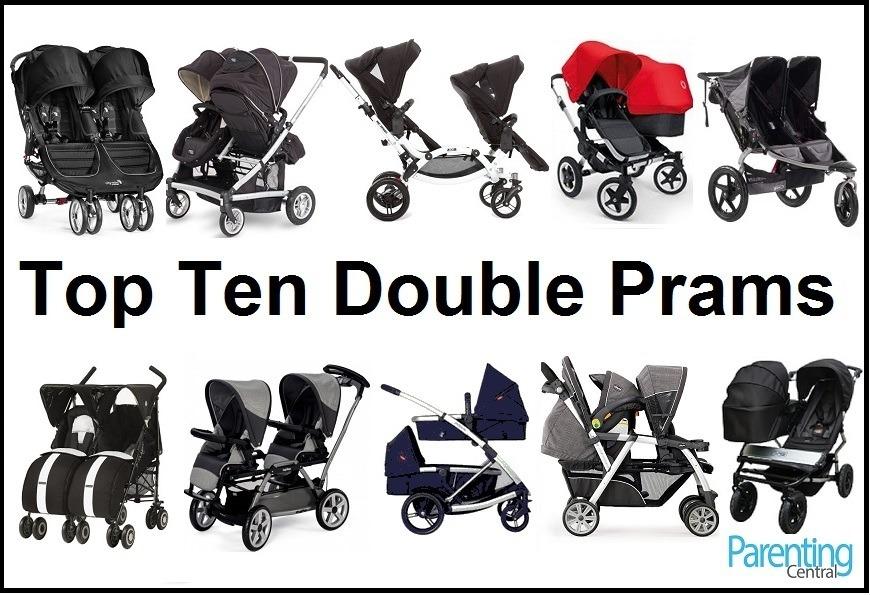 top ten double prams