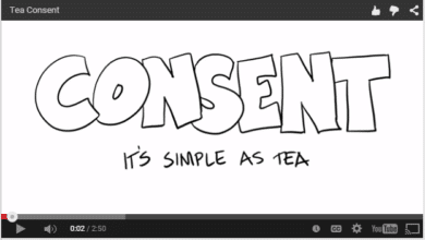 Photo of Talking About Consent – Yes means Yes