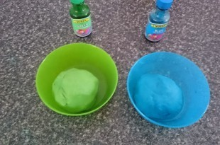 boiling water play dough