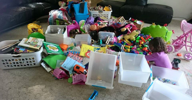 Photo of The 7 Stages of Cleaning Out the Kids Toys
