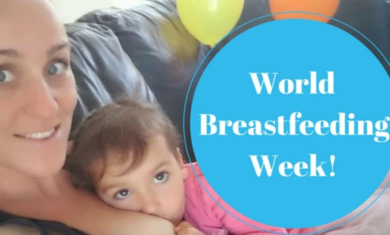Photo of My Last World Breastfeeding Week While Breastfeeding