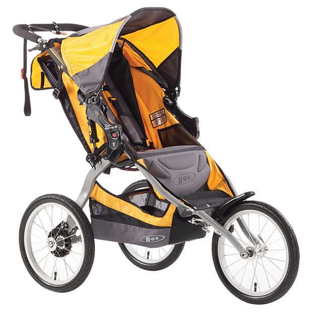 Britax BOB Ironman has 16 inch wide air filled tyres!