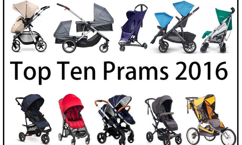 Photo of Top Ten Prams 2016