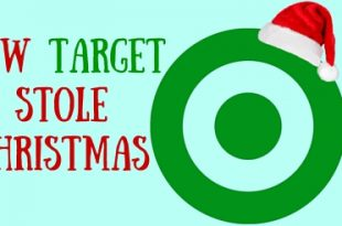 target stole christmas