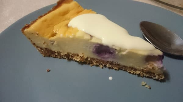 Photo of Easy LCHF Baked Cheesecake