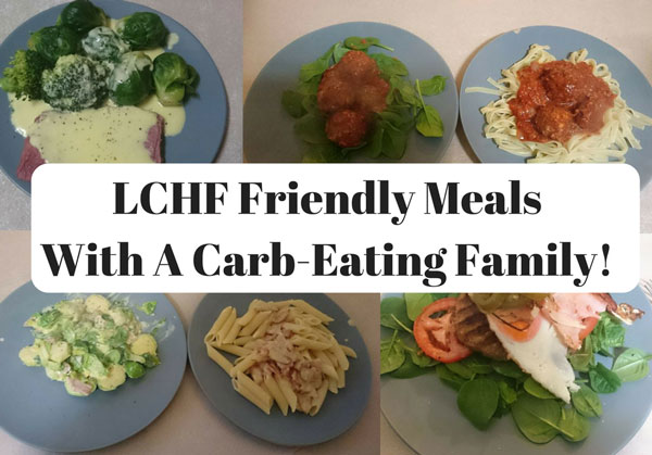 Photo of LCHF with a Carb-Eating Family