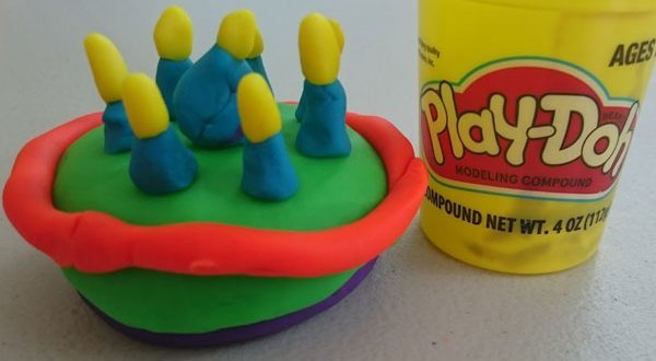 Happy 60th Birthday Play-Doh
