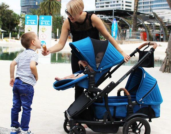 Photo of Babyhood Doppio Inline Multi-Mode Pram