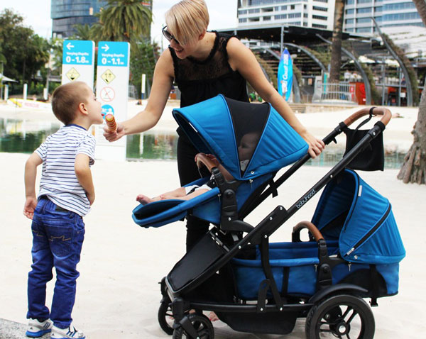 Photo of Babyhood Doppio Inline Multi-Mode Pram