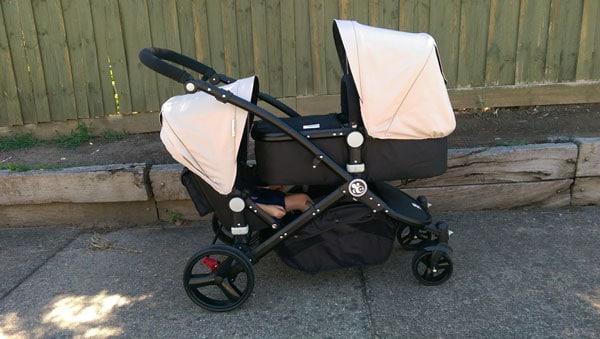 babybee prams comet duo bassinet and seat