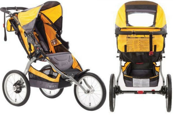 best running pram bob ironman