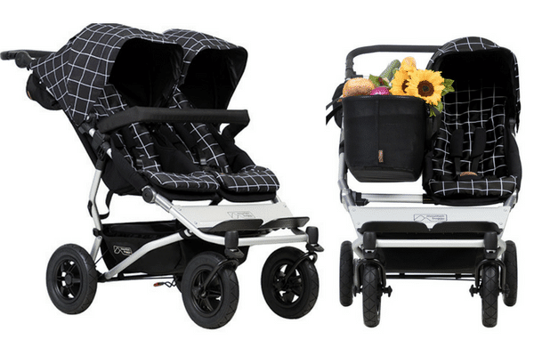 best double prams moutain buggy duet 2017