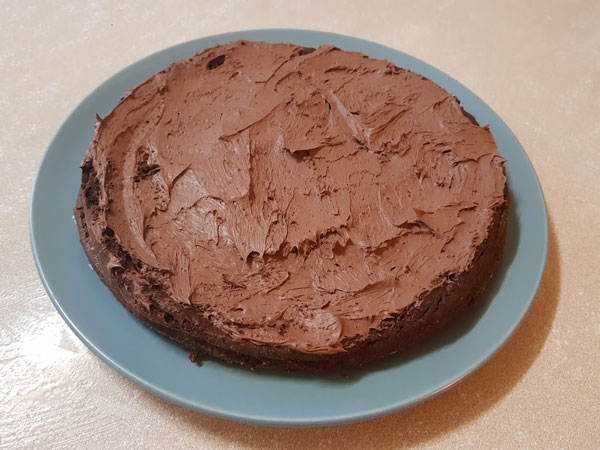 Photo of LCHF Chocolate Brownie – Sweet Potato and Almond Brownie