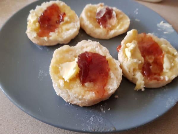 lemonade scones without cream