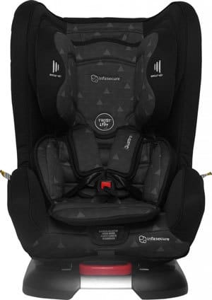 As The Name Suggests Infa Secure Quattro Treo Was Designed With Fitting Three Car Seats In Mind Is Narrowest Seat An Inbuilt