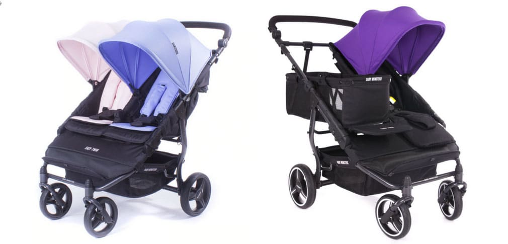 best double prams 2018 baby monsters easy twin