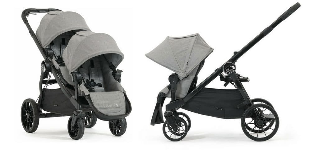best double prams 2018 baby jogger city select lux
