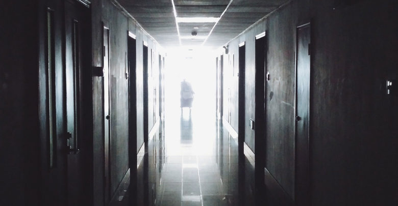 Photo of In A Hospital Hallway