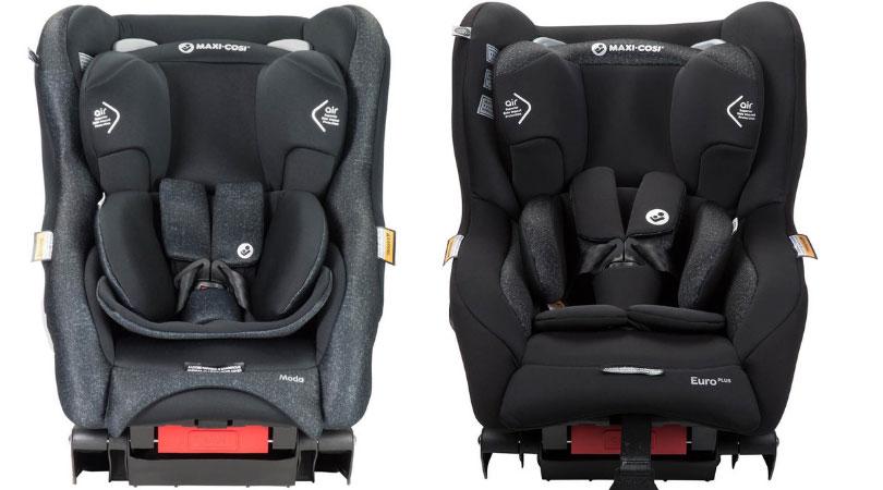 Maxi Cosi Moda (Left) Maxi Cosi Euro Plus (Right)