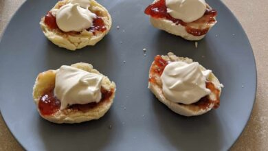 Photo of Soda Water Scones Without Cream