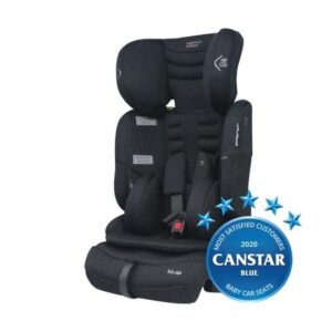 Mother's Choice Kin AP Convertible Booster Seat - Black Space