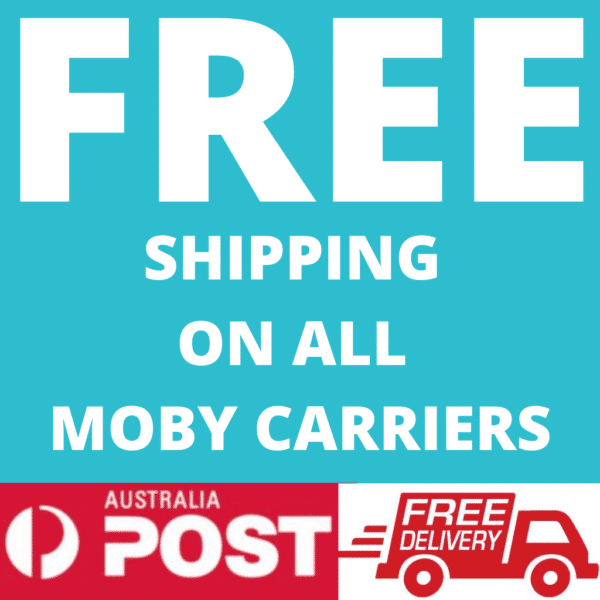 FREE EXPRESS SHIPPING ON ALL MOBY PRODUCTS 1