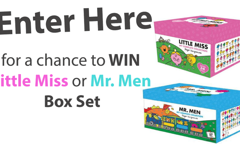 Photo of Mr Men and Little Miss Box Set (September Giveaway)