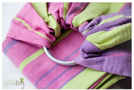 Photo of Little Frog Ring Sling Giveaway