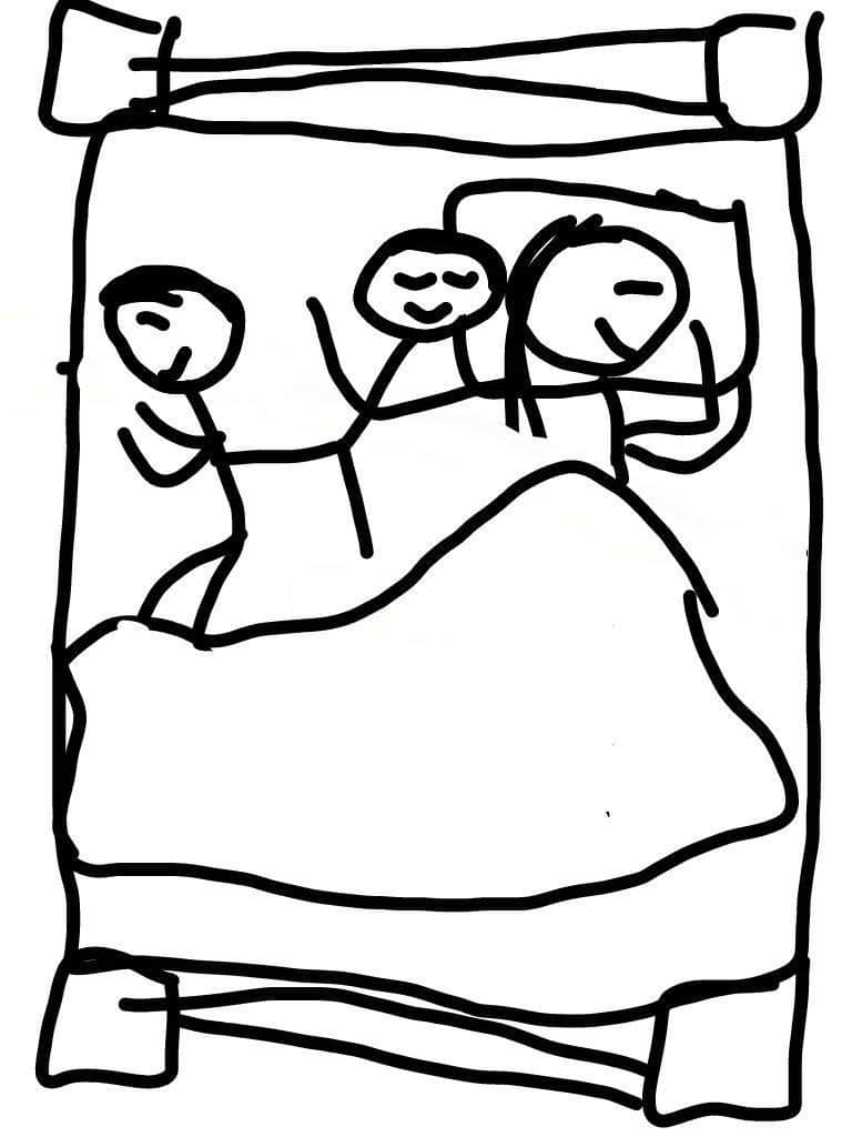 Photo of Co-Sleeping with Two
